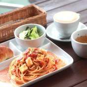 スパゲティセットのイメージ写真