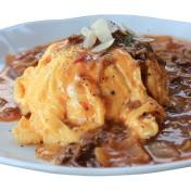 オムハヤシライス<br />【サラダ・スープ付き】のイメージ写真