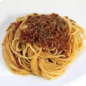 ミートソーススパゲティ<br />【スープ付き】のイメージ写真
