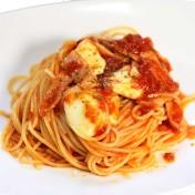 トマトソーススパゲティ<br />【スープ付き】のイメージ写真
