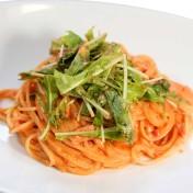 トマトクリームスパゲッティ<br />【スープ付き】のイメージ写真